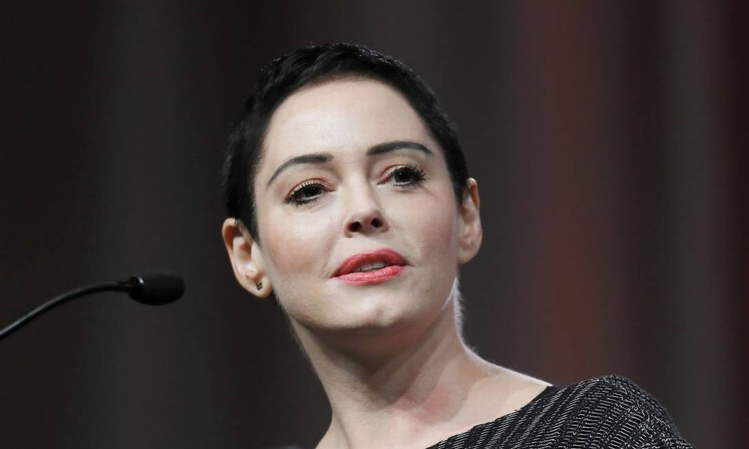A atriz Rose McGowan Foto: Paul Sancya / AP