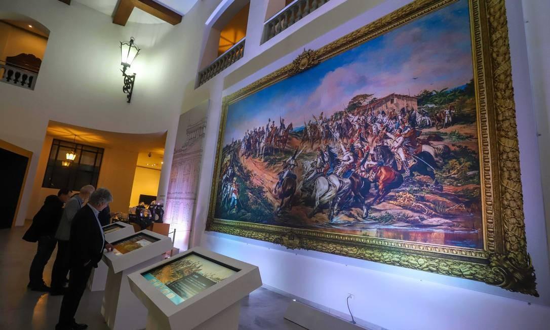 """Exposição """"Arte e História nas Coleções Públicas Paulistas"""", em cartaz no Palácio dos Bandeirantes Divulgação"""