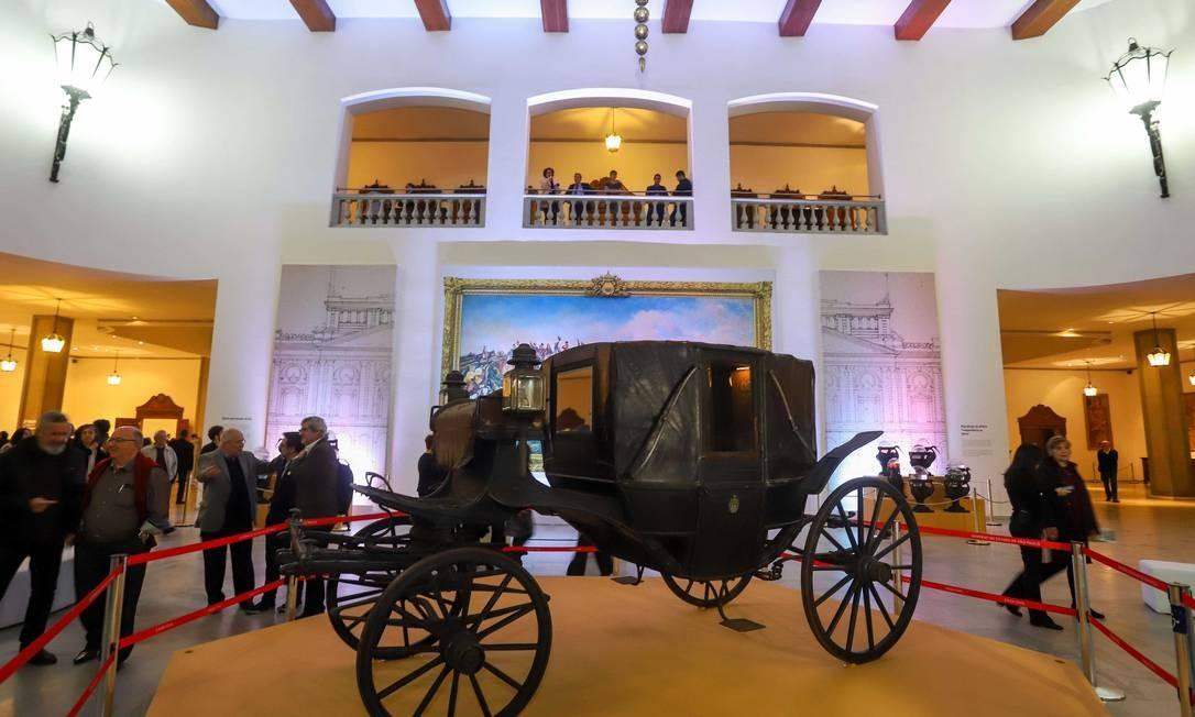 Carruagem do século XIX Foto: Divulgação