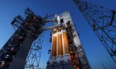 Parque de lançamento espacial da NASA, a agência espacial americana, na Flórida Foto: HANDOUT / REUTERS