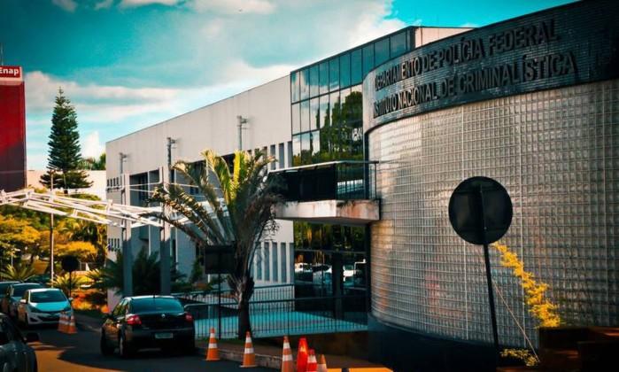 O Instituto Nacional de Criminalística, em Brasília Foto: Reprodução / Facebook