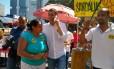 Indio da Costa em campanha ao governo do Rio pelo PSD Foto: Agência O Globo
