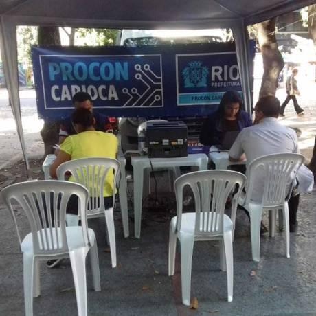 Procon Carioca faz atendimento itinerante: esta semana, consumidores poderão registrar suas queixas em Bonsucesso e Rio Comprido Foto: Divulgação