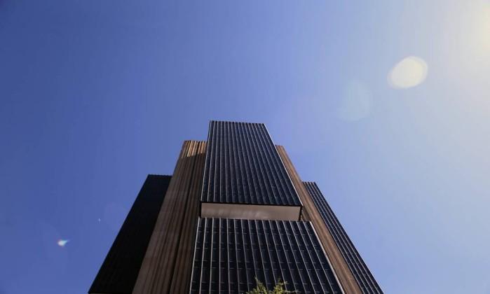 A fachada do Banco Central em Brasília Foto: Jorge William / Agência O Globo