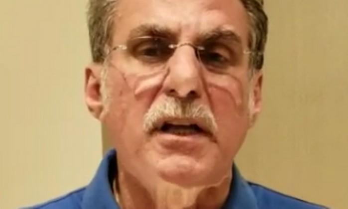 O senador Romero Jucá em vídeo Foto: Reprodução
