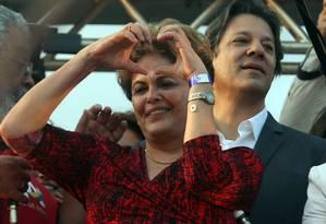 A ex-presidente Dilma Rousseff é candidata ao Senado em Minas Gerais Foto: Givaldo Barbosa / Agência O Globo