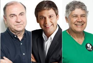 Candidatos ao Senado do Rio Foto: Editoria de Arte