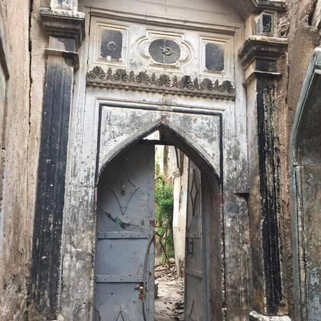 Sinagoga. Construído em 1870, o templo resistiu à invasão do Estado Islâmico e aos bombardeios em Mossul Foto: Arquivo Pessoal