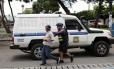 Nicaraguense vivendo sem documentos na Costa Rica é detido por policial na capital, San José Foto: STRINGER / REUTERS
