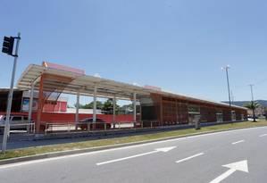 Em Itaipu, uma das 13 estações por onde circularão os ônibus elétricos previstos no Plano Operacional da Transoceânica Foto: Márcio Alves / Agência O Globo