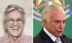 Fotomontagem sobre fotos de Leonardo Aversa e Givaldo Barbosa Foto: Givaldo Barbosa / Agência O Globo
