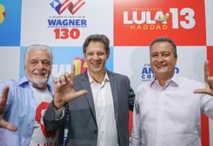 Haddad começa por Salvador campanha no nordeste Foto: Divulgação