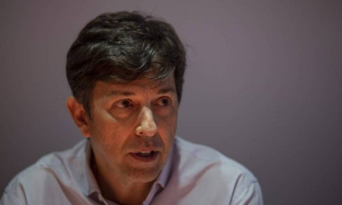 João Amoêdo, candidato do Novo ao Planalto Foto: Alexandre Cassiano / Agência O Globo