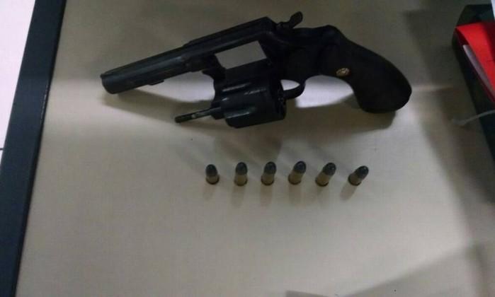 Revólver calibre 38 Foto: Divulgação