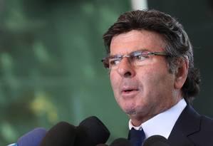 O ministro Luiz Fux, do Supremo Tribunal Federal (STF) Foto: Givaldo Barbosa / Agência O Globo
