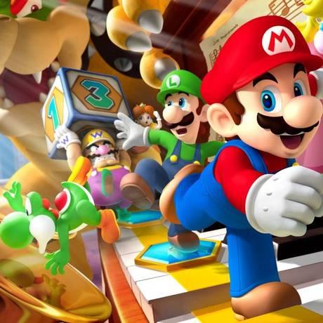 Super Mario, Luigi e outros personagens do clássico videogame Foto: Divulgação