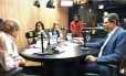 Fernando Haddad (PT) concede entrevista à rádio em Salvador