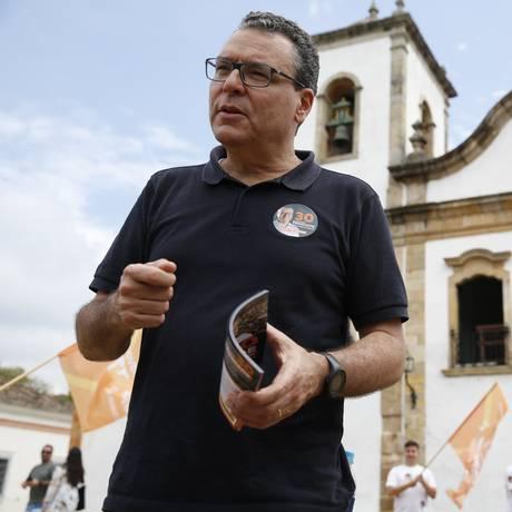 Marcelo Trindade (Novo) faz campanha no Sul Fluminense Foto: Divulgação