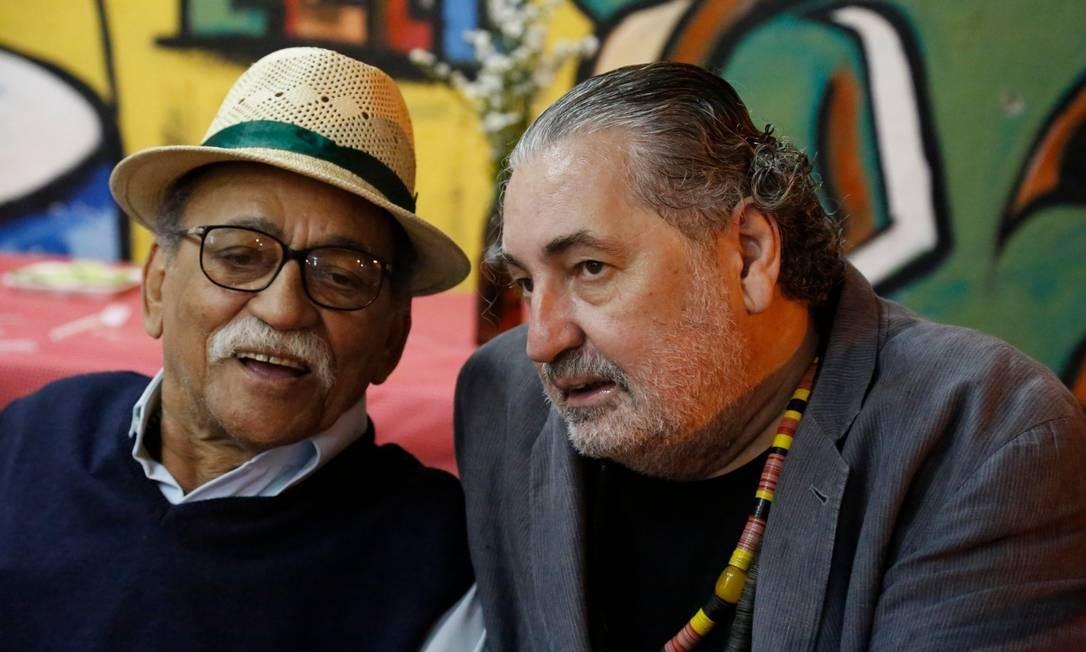 Moacyr Luz homenageia Wilson das Neves no Samba do Trabalhador Foto: Divulgação