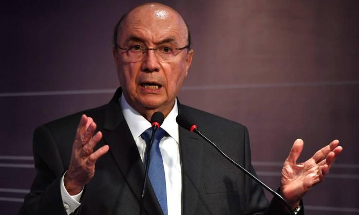 O canditato Henrique Meirelles Foto: Nelson Almeida / AFP