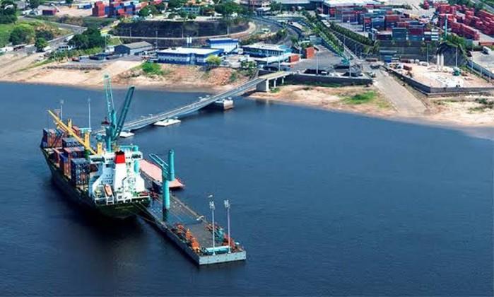 Terminal fluvial da Superterminais em Manaus Foto: Reprodução