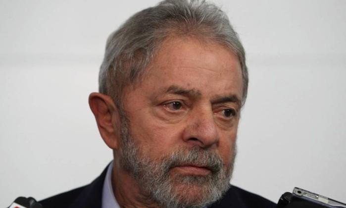 O ex-presidente Luiz Inácio Lula da Silva Foto: Michel Filho / Agência O Globo