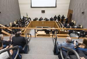 Julgamentos na Primeira Seção do STJ Foto: Sergio Amaral/STJ/22-06-2018