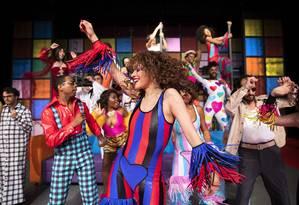 """Cena do musical """"O Frenético Dancin' Days"""" Foto: Leo Aversa / Divulgação"""