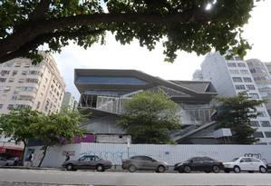 Obra do Museu da Imagem e do Som, no Rio de Janeiro Foto: Guilherme Pinto/Agência O Globo