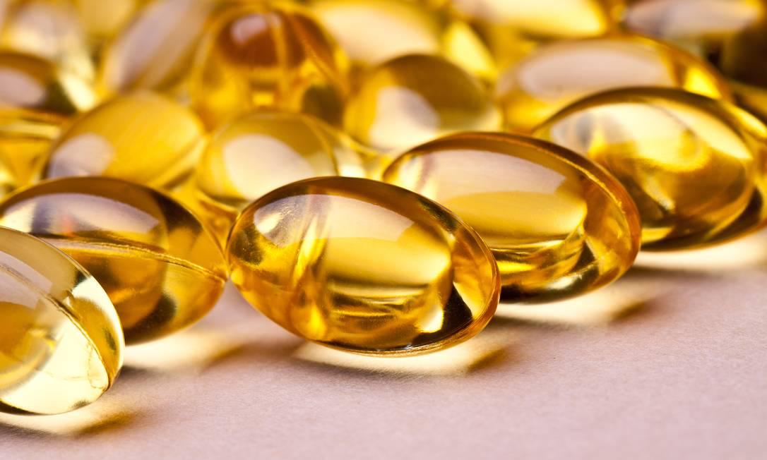Cápsulas de vitamina D Foto: Shutterstock.com