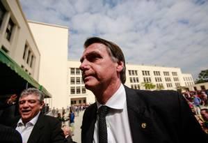 O candidato à Presidência, Jair Bolsonaro (PSL) 18/08/2018 Foto: Brenno Carvalho / Agência O Globo