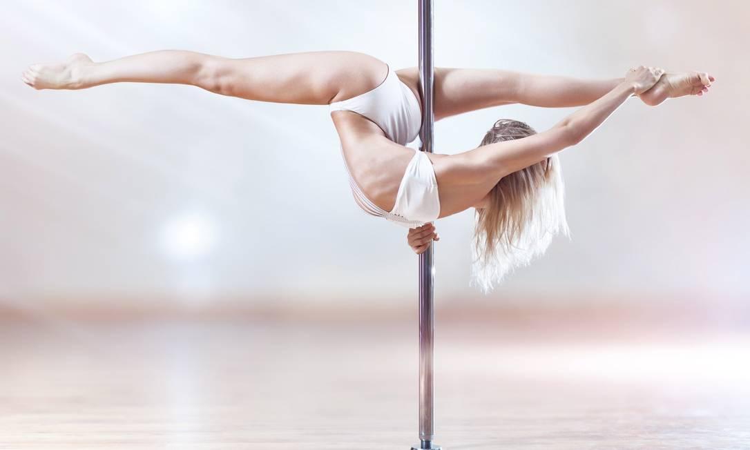 Anastasia Skukhtorova, atleta russa de pole dance Foto: Divulgação / Divulgação