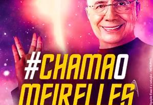 Reprodução de vídeo que Meirelles publicou no Twitter Foto: Reprodução