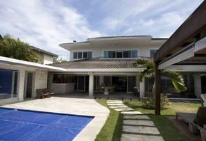 Casa do ex-governador Sergio Cabral no Condomínio Portobello, em Mangaratiba. A casa vai a leilão por R$ 8 milhões Foto: Márcia Foletto / Agência O Globo