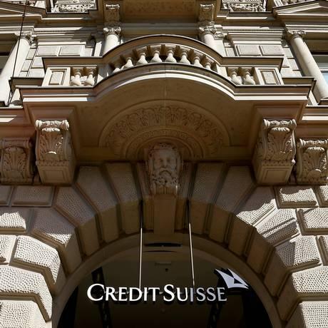 Fachada do prédio do Credit Suisse em Zurique Foto: REUTERS