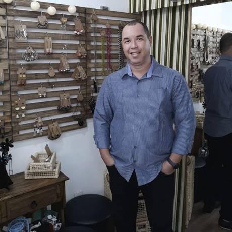 Alexandro Santos é o criador do aplicativo Foto: Divulgação