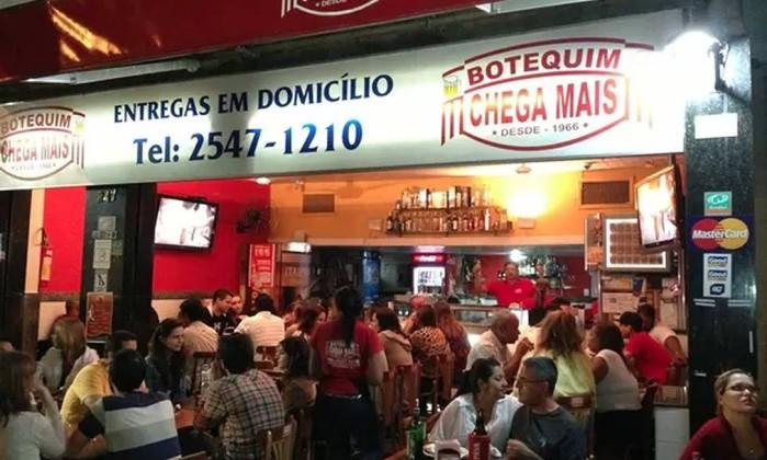Chega Mais: empada fora da curva Foto: Juarez Becoza / O GLOBO