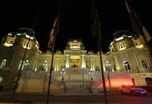 Palácio Guanabara, sede do governo do Estado do Rio Foto: Pedro Teixeira/Agência O Globo/10-01-2018