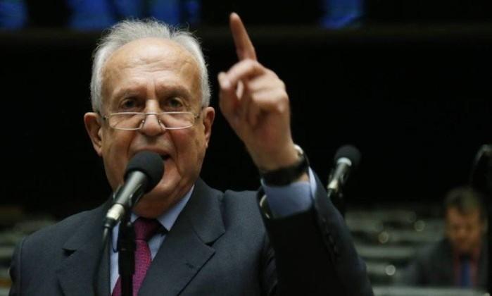 O deputado Jarbas Vasconcelos (MDB-PE) foi eleito para o Senado Foto: Ailton de Freitas / Agência O Globo