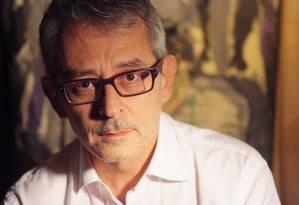 O jornalista, ensaísta e dramaturgo Otavio Frias Filho frequentou a redação da Folha quase diariamente por 44 anos, 34 como diretor de redação, mas dizia que ficava mais à vontade entre o pessoal do teatro Foto: Lenise Pinheiro / Divulgação