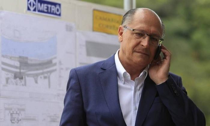 O presidenciável do PSDB, Geraldo Alckmin Foto: Edilson Dantas / Agência O Globo