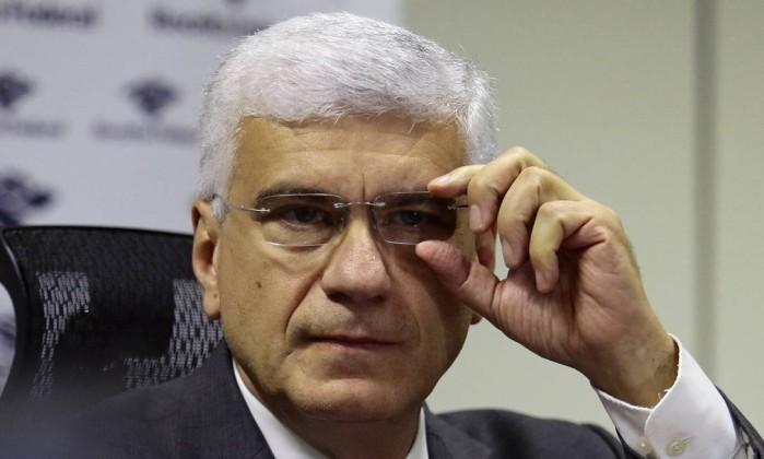 O secretário da Receita Federal, Jorge Rachid, durante entrevista Foto: Jorge William/Agência O Globo/30-04-2018