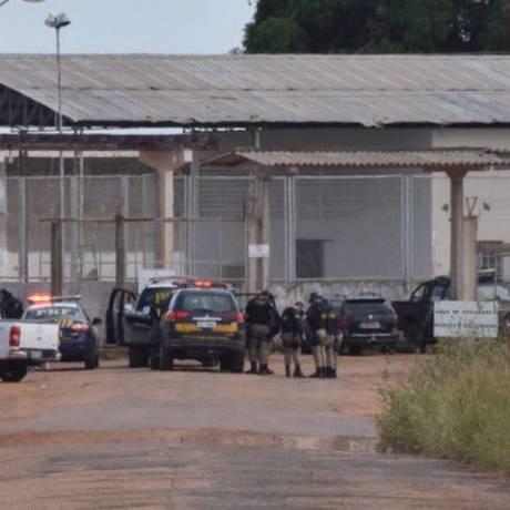 Penitenciária Agrícola de Monte Cristo, em Roraima Foto: Rodrigo Sales/Agência O Globo/06-01-2017