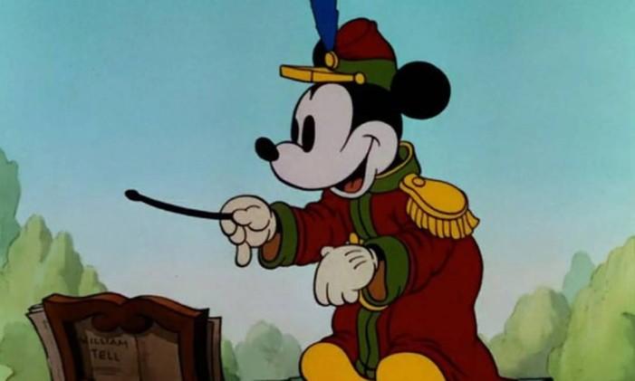 Mickey - O maestro Foto: Divulgação / Divulgação