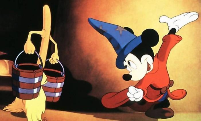 SC - Mickey - Fantasia Foto: Reprodução