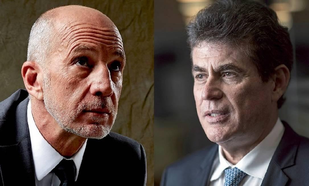 Reginaldo Tripoli e José Roriz Coelho Foto: Fotos: Felipe Hellmeister/Claudio Belli