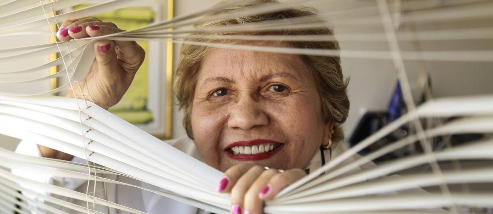 Iracema Pacífico: uma história de auto-ajuda Foto: Marcos Ramos / Agência O Globo