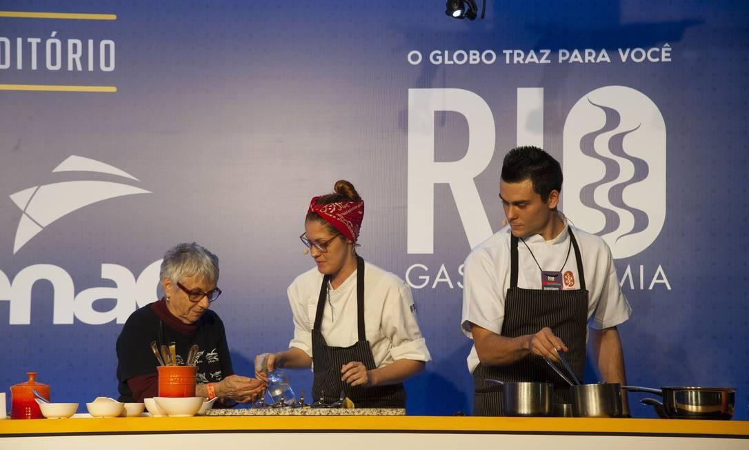 RS Rio de Janeiro 25/08/2018 - Rio Gastronomia 2018. Tortelonni do Ciprianni, com Nello Cassese . Foto: Adriana Lorete/OGlobo Foto: Adriana Lorete / Agência O Globo