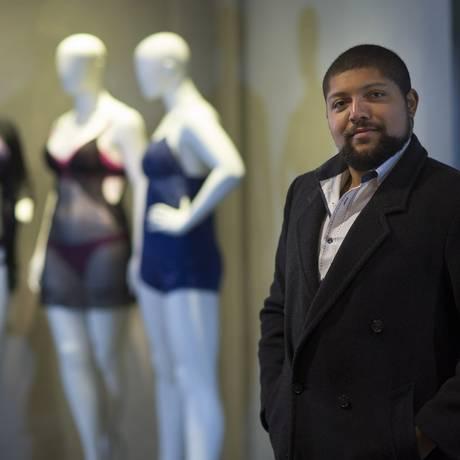 Douglas Ferreira Santana , presidente da Associação Brasil Plus Size Foto: Edilson Dantas