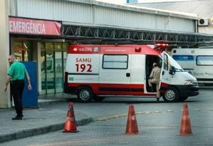O Hospital Municipal Lourenço Jorge, na Barra da Tijuca Foto: Brenno Carvalho / Agência O GLOBO